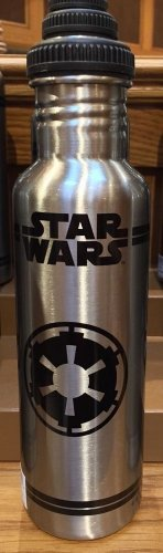 Disney Parks Star Wars Tin Water Bottle NEW