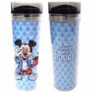 Disney Parks Mickey Mouse Travel Tumbler Rough Mornings NEW