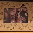 Disney Parks Autograph Photo Picture Frame Mickey Mouse and Friends NEW IN BOX