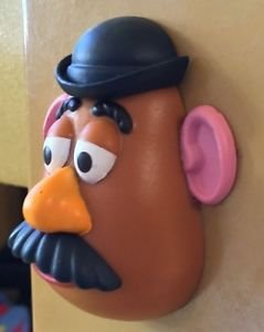 DISNEY PARKS EXCLUSIVE TOY STORY MR POTATO HEAD 3-D MAGNET HEAD NEW