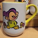 DISNEY PARKS CARTOON SNOW WHITE'S DOPEY CERAMIC COFFEE / TEA MUG CUP NEW
