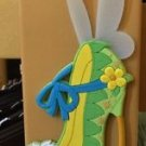 DISNEY PARKS EXCLUSIVE TINKER BELL LARGE SHOE MAGNET NEW