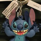DISNEY PARKS WILD STITCH DANGLING RUBBER KEYCHAIN NEW WITH TAGS