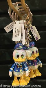 DISNEY PARKS DONALD DUCK MOVING ARMS KEYCHAIN NEW WITH TAGS