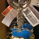 DISNEY PARKS DONALD DUCK DANGLING METAL KEYCHAIN NEW WITH TAGS