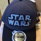 Disney Parks Star Wars One Size Fits Most New Era 39THIRTY Hat Cap NEW NAVY BLUE