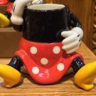 DISNEY PARKS MINNIE MOUSE FIGURINE TOOTHPICK HOLDER SHOT GLASS CUP CERAMIC NEW