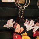 DISNEY PARKS JUMPING MICKEY MOUSE DANGLING KEYCHAIN NEW WITH TAGS