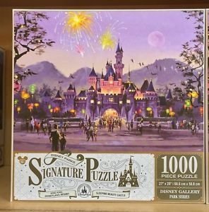 Disney Parks Thomas Kinkade Hong Kong Sleeping Beauty Castle Puzzle NEW IN BOX