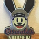 DISNEY PARKS OSWALD THE LUCKY RABBIT SUPER SERVICE METAL MAGNET NEW