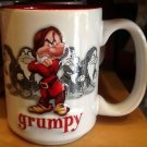 Disney Parks Grumpy Ceramic Mug Disneyland Faces New