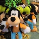 "Disney Parks Goofy 4"" Plush Dangling Keychain New With Tags"