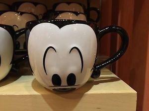 Disney Parks Mickey Mouse Mug Cup Eyes Signature Coffee Tea New