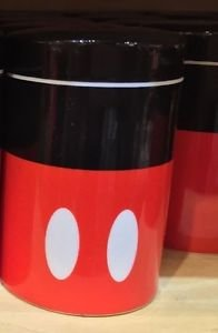 Disney Parks Signature Collection Mickey Mouse Cannister Shaker Salt Pepper New