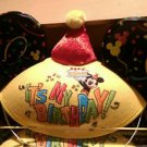 Disney Parks It's My Birthday Mickey Yellow Ears Hat NEW