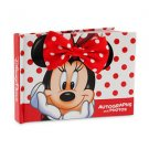 Disney Parks Minnie Mouse Autograph Book and Photo Album Book New