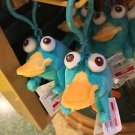 DISNEY PARKS PERRY PLUSH DANGLING KEYCHAIN NEW WITH TAGS