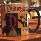 Disneyland Resort D Est. Patchwork Mickey Mouse Ceramic Mug New