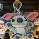 DISNEY PARKS STITCH FROM LILO & STITCH PLUSH DANGLING KEYCHAIN NEW WITH TAGS