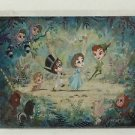 Disney WonderGround Gallery Peter Pan Parade Postcard by John Coulter RARE NEW