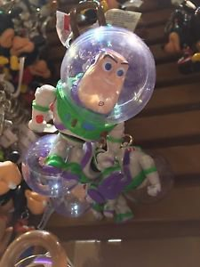 DISNEY PARKS TOY STORY BUZZ LIGHTYEAR MOVING BODY PARTS KEYCHAIN NEW WITH TAGS