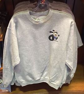 Disney Parks Oswald The Lucky Rabbit Super Service Sweater Sizes: S,M,L,XL New