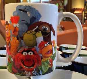 Disney Parks The Muppets Multi Character Ceramic Mug Cup NEW