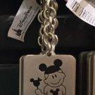 "Disney Parks Boy with Ear Hat Metal Keychain ""David"" New"