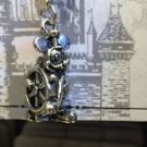 "Disney Parks Silver Plated Charm ""Mickey Wheel / Pluto / Cinderella's Carriage"""