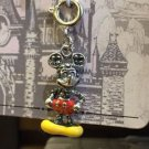 "Disney Parks Silver Plated Charm ""Mickey Mouse / Minnie Mouse / Minnie Shoes"""