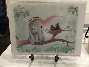 Disney WonderGround Dumbo Lend an Ear Postcard by Sydney Hanson New