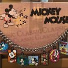 Disney Parks Classic Mickey Mouse Cameo Charm Bracelet New