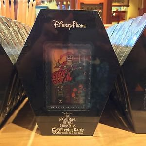 Disney Parks Nightmare Before Christmas Jack Skellington Deck 52 Playing Cards