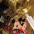"Disney Parks Mickey Minnie Pluto Keychain ""Faith"" New"