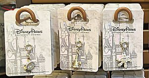 """Disney Parks Silver Plated Charm """"Mickey Ear Hat / Sorcerer Hat / Mickey Hand"""""""