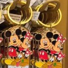"Disney Parks Mickey Minnie Pluto Keychain ""#1 Teacher / #1 Tia"" New with Tags"