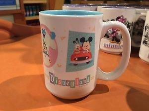 Disney Parks Cute Character Mickey & Minnie Mouse Disneyland Resort Ceramic Mug