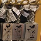 Disney Parks Boy with Ear Hat Metal Keychain Jack / Jacob / Jamie New