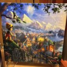Disney Parks Pinocchio Canvas Wrap Print by Thomas Kinkade Studios New