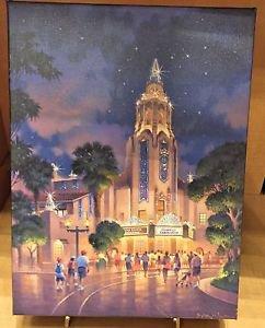 Disney California Adventure Carthay Circle Canvas Wrap Print by Brian Jowers New