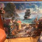 Disney Parks Pirates of The Caribbean Canvas Wrap Print Thomas Kinkade Studios