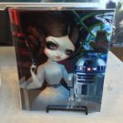 Disney WonderGround Gallery Princess Leia R2-D2 Postcard Jasmine Becket-Griffith