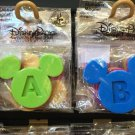 Disney Parks Iconic Mickey Ear Initial Letter Magnet Multiple Colors Available