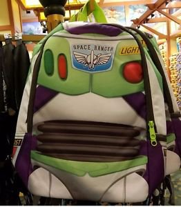 Disney Parks Toy Story Buzz Lightyear Space Ranger Backpack New With Tag