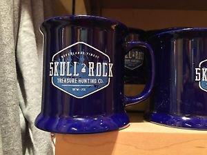 Disney Parks Skull Rock Captain Hook Neverlands Finest Ceramic Mug Cup New