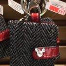 Disney Parks Mickey Mouse Organizer Key Ring Keychain New