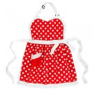 Disney Parks Minnie Mouse Dress Kitchen Collection Cooking Apron New With Tags