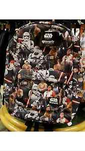 Disney Parks Loungefly Star Wars The Force Awakens Collage Backpack New