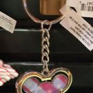 Disney Parks Mickey Mouse American Flag Metal Key Keychain New With Tags