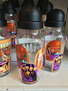 Disney WonderGround Star Wars A Wretched Hive Glass Drink Shaker Cup by Shag New